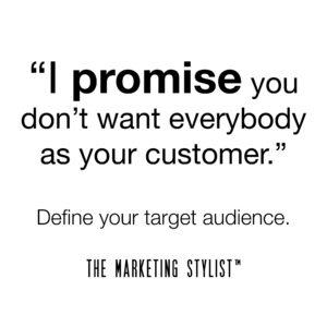 TMS Message: I Promise www.TheMarketingStylist.com